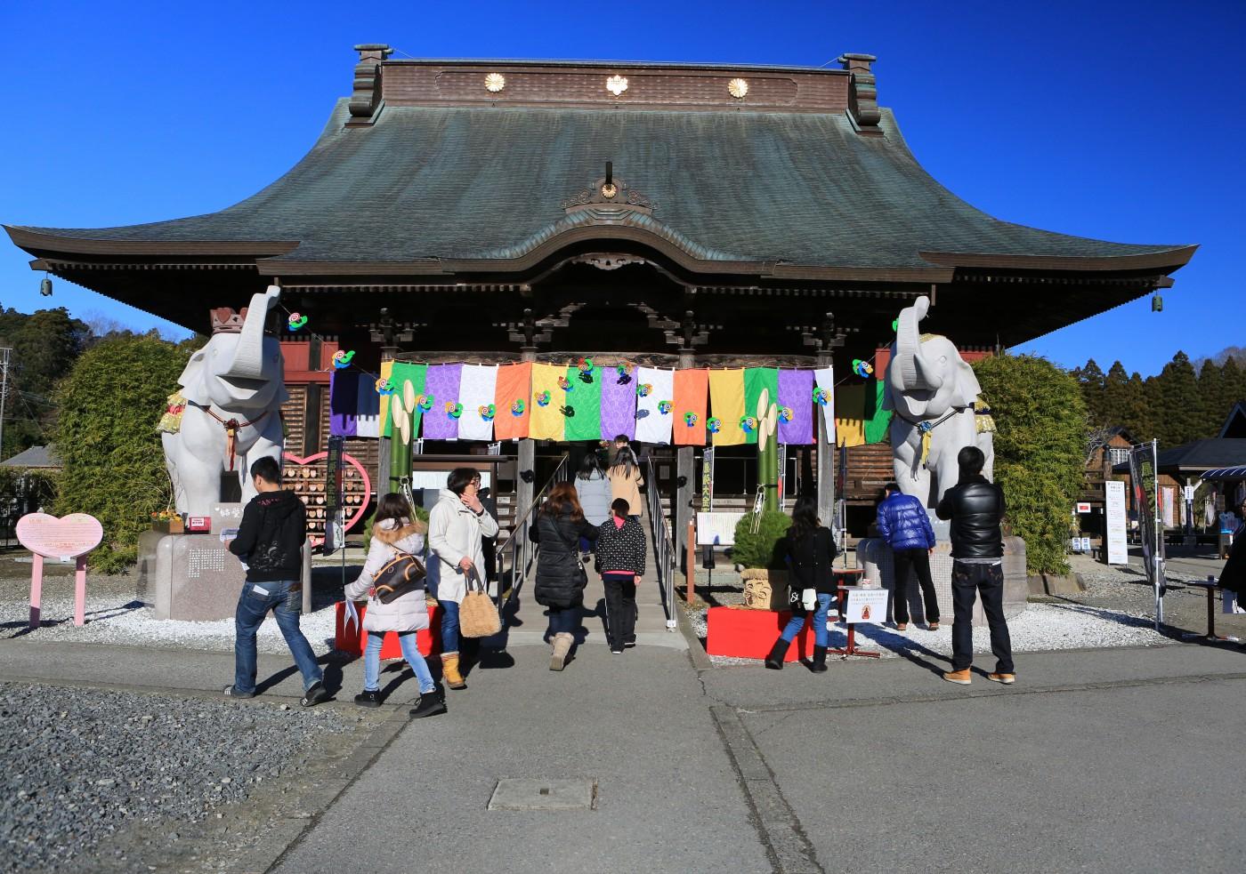 1200年の大古刹 長福寿寺