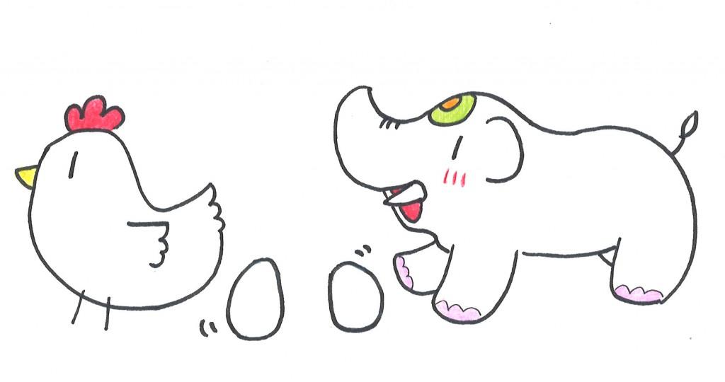 金運アップの食材【卵】だゾウ