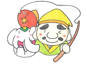 七福神【恵比寿】だゾウ!!