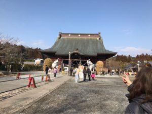 長福寿寺へお礼参り