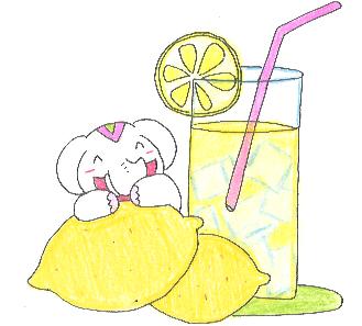 金運アップ待ち受け! 金運アップフルーツ【レモン】だゾウ♪