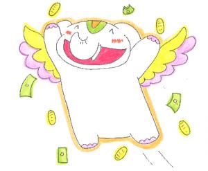 金運アップ待ち受け! 【開運アップ&大当たり祈願祭】が始まるゾウ!