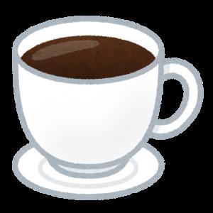 コーヒーの香りで一呼吸。