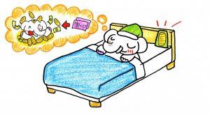 【9月の金運アップの秘訣①】寝ている間に「運氣」は上がる