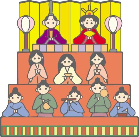 今日は『ひな祭り』 《幸福》記念日です
