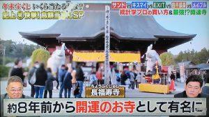 【10万円でできるかな】に長福寿寺の吉ゾウくんが登場! 2020.1.13