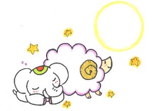 金運アップ待ち受け!願いを叶える【牡羊座の新月】だゾウ♪
