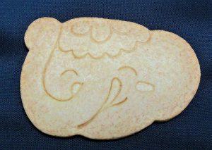 (初)とっても美味しい【吉ゾウくんの開運クッキー】 10個入り